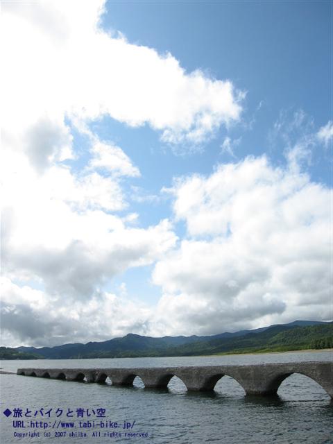 タウシュベツの橋